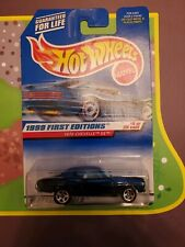 Hot Wheels 1970 CHEVELLE SS Blue VINTAGE 1999 First Editions Series 915 NEW 1:64