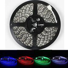 Super Bright 10M RGB 60leds/M 5050 600 LED Strip Light Lamp NON-Waterproof DC24V