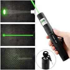 Laser Light Pointer Pen Military Green 10miles 1MW 532NM Lazer Visible Beam Burn