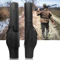 "48"" Tactical Dual Rifle Bag Backpack Padded Gun Carry Storage Bag Military Black"