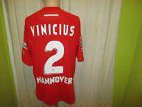 "Hannover 96 Diadora Heim Matchworn Trikot 2006/07 ""Tui"" + Nr.2 Vinicius Gr.XL"