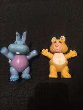 Vintage 1980s Wuzzle Disney Wuzzles Toy Figures Retro Hasbro 1985 Plastic PVC 2