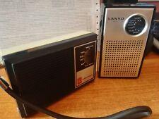 Lotto n° 2 radio transistor GRUNDIG BOY 60 - SANYO 6 transistor(leggi)