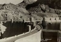 c1930s Boulder Dam Real Photo Postcard RPPC From Above AZ Spillway Unposted