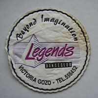 LEGENDS DANCECLUB BEYOND IMAGINATION VICTORIA GOZO 556452 COASTER