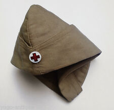 Kingdom Yugoslavia Serbia pre-WWII Army Red Cross Nurse medic cap w/ badge RARE