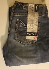 Esprit L34 Niedrige Damen-Jeans aus Denim