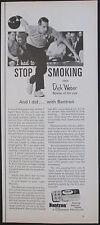 Bantron Stop Smoking Tablets 1967 Original 1/2 Page Vintage Print Ad
