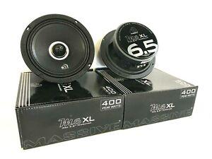 "Set of TWO 6.5"" Pro Audio Mid Range Loud Speaker Massive M6XL 800W Fast FreeShip"