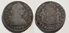CARLOS III ,2 REALES DE 1779 . LIMA . PLATA . 6,3 gramos/28 mm