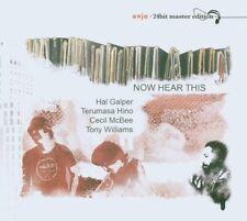 HAL GALPER - Now hear this - CD DIGIPACK 2006 SIGILLATO SEALED