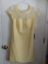 "NEW with Tags JJ's House "" Custom"" Bridesmaid Dress~ Daffodil~ Simple & Elegant~"