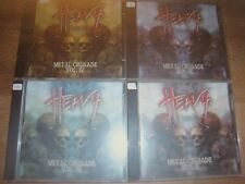 8 CD: Heavy-Metal croisade vol.1, 2, 3, 4, 5, 6, 7, 8