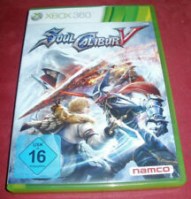 SoulCalibur V (Microsoft Xbox 360, 2012, DVD-Box)