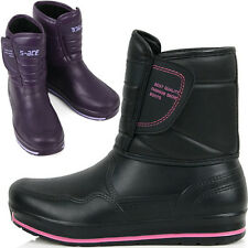 New Womens Waterproof Winter Warm Snow Light Weight Rain Boots