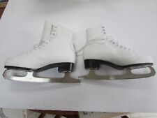 Ladies Vic Usa ice skates size 10 Slm Canada blades shoe made in China barely us