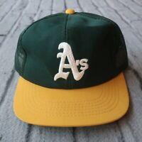 Vintage 90s Oakland A's Athletics Mesh Trucker Snapback Hat Sports Specialties