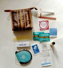 PAN AM AIRLINES AMENITY KIT TOILETRY BAG