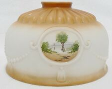 Vintage Beautiful Lamp Shade With With 4 Beach Scenes