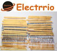 EL2211 LOTE 400 RESISTENCIAS 1/4W valores variados ohmio Ω resistencia España
