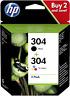 HP 3JB05AE HP 304 MULTIPACK ORIGINALE NERO+COLORE PER DESKJET 2620/3720/3730