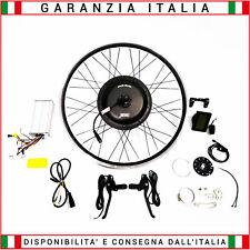 "Kit Trasformazione Bici Elettrica Motore Ruota  28""Post.1000w Batteria 48v 13Ah"