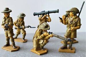 Vintage Lone Star Toy Soldiers ww2 Australian