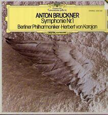 BRUCKNER-Symphonie nº 1 DIGITAL LP, Karajan, Berliner Philharmonique
