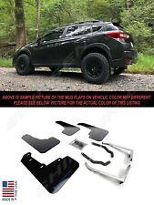 Rally Armor UR Black Mud Flaps w/ Blue Logo for 2018-2020 Subaru Crosstrek