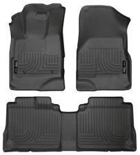 Husky Liners 2010-2017 GMC Terrain / Chevrolet Equinox Floor Mat Set Black 98131