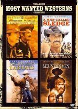 4 Most Wanted Westerns Mackenna's Gold Sledge Laramie Mountain Men Region 1 DVD