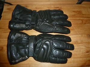 Held Gore-Tex Primaloft Winter Sz 11 XXL Motorcycle Leather Gloves - Black