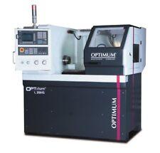 Torno CNC de bancada ideal para centros de formación OPTIMUM L 28HS