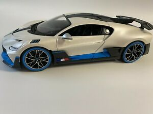 MAISTO 1/18 Diecast Bugatti Divo PEARL WHITE EXCLUSIVE STYLE #31719