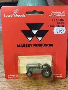 Massey Ferguson TO-20 Farm Tractor 1/64 scale  # FT-0809