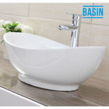 Oval Solid Countertop Bathroom Sinks