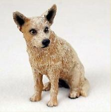 Australian Cattle Dog Red Figurine Statue Hand Painted Resin Gift Pet Lovers