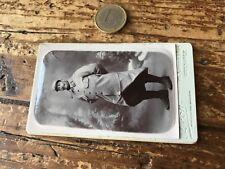 photographie ancienne CDV militaire numéro 167 photo léon