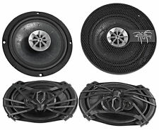 "(2) SOUNDSTREAM SS.69SD 500 Watt 6x9""+(2) 6.5"" 130 Watt Car Audio Speakers"