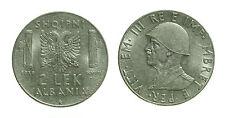 pci2469)  Albania Vittorio Emanuele III - 2 Lek 1939