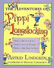 The Adventures of Pippi Longstocking by Astrid Lindgren (Hardback, 1997)