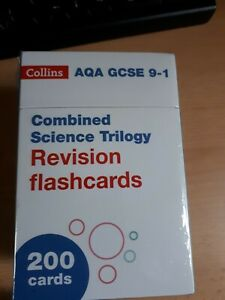 AQA GCSE 9-1 Combined Science Revision Cards (Biology, Chemistry & Physics)