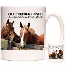 SUFFOLK PUNCH SHIRE HORSES GIFT MUG Can Be Personalised DIshwasher Safe
