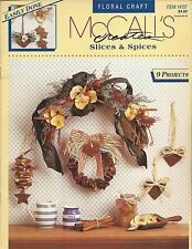 Slices & Spices ~ McCall'S Creates floral craft