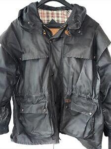 Vintage Outback Trading Co. Swagman Jacket Coat Men's Large Oilskin Duster 2100