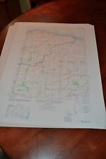 1940's Army topographic map Hamlin New York -Sheet 5470 IV SW