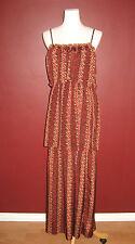 Patterson J. Kincaid xs maxi tiered long adjustable strap dress