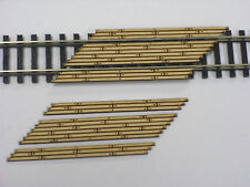 N Scale ** Laser Cut ** Double Lane Timber Right Angled Grade Crossing 2 Pack