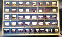 Photo Slides Edinburgh Amsterdam Norway Lot Of 42 Vintage Travel Vacation 1980's