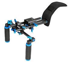 ayex D4 Schulterstativ Video Rig für DSLRs, Systemkameras, Camcorder